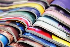 Revistas apiladas
