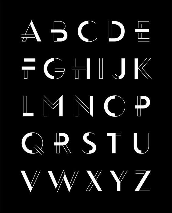 tipografia-geometrica